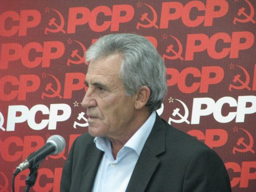 Товарищ Жерониму ди Соза, лидер коммунистов Португалии