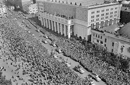 Москва 1957 г. Крупнейший из всемирных молоджных фестивалей