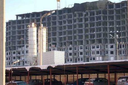 Турецкие бетонно-растворные узлы посреди Ижевска