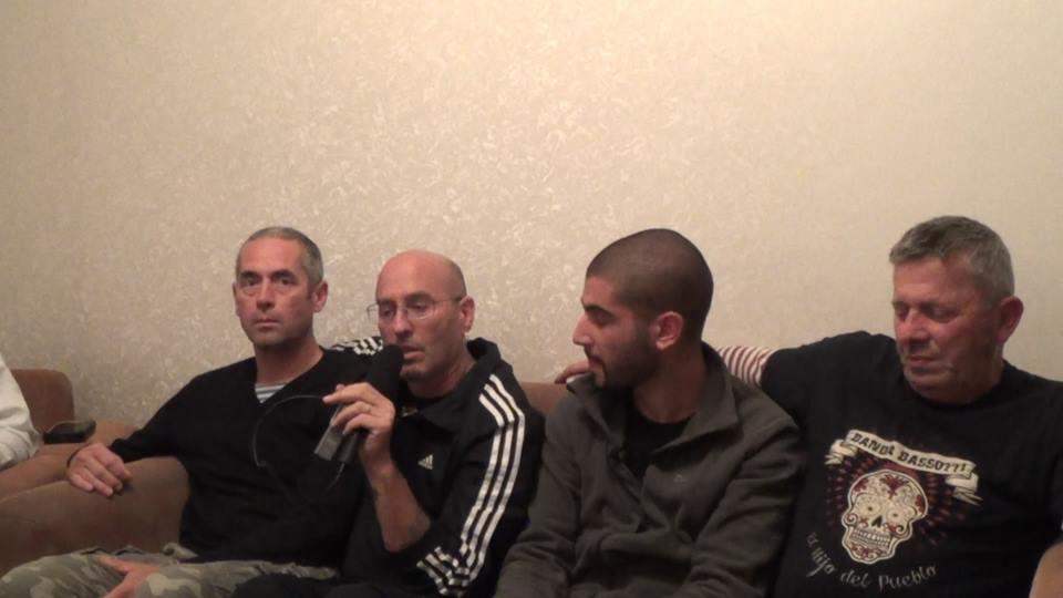 Banda Bassotti дает интервью в Москве