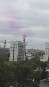 Фиолетовый дым, Завод по термической переработке твердых бытовых отходов в Cеверо-Восточном административном округе, Отрадное, Москва