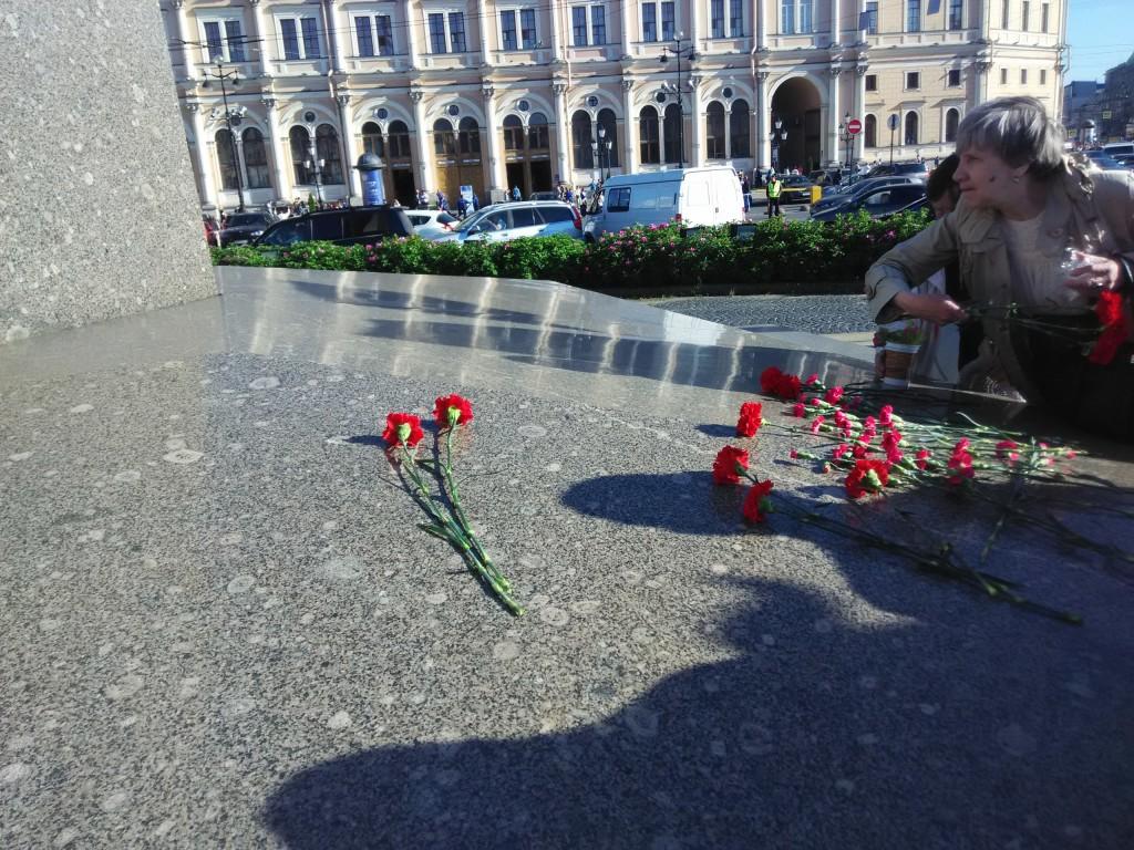 22 июня 2016 площадь осстания